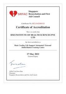 Accreditation-BCLS Training Centre